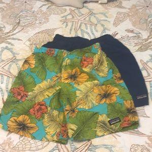 Patagonia boys' Baggies shorts bundle of 2